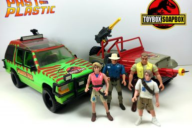 kenner jurassic park toys review