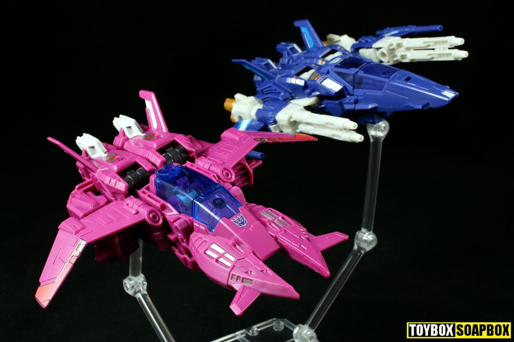 titans return Misfire and Trigghappy jet modes