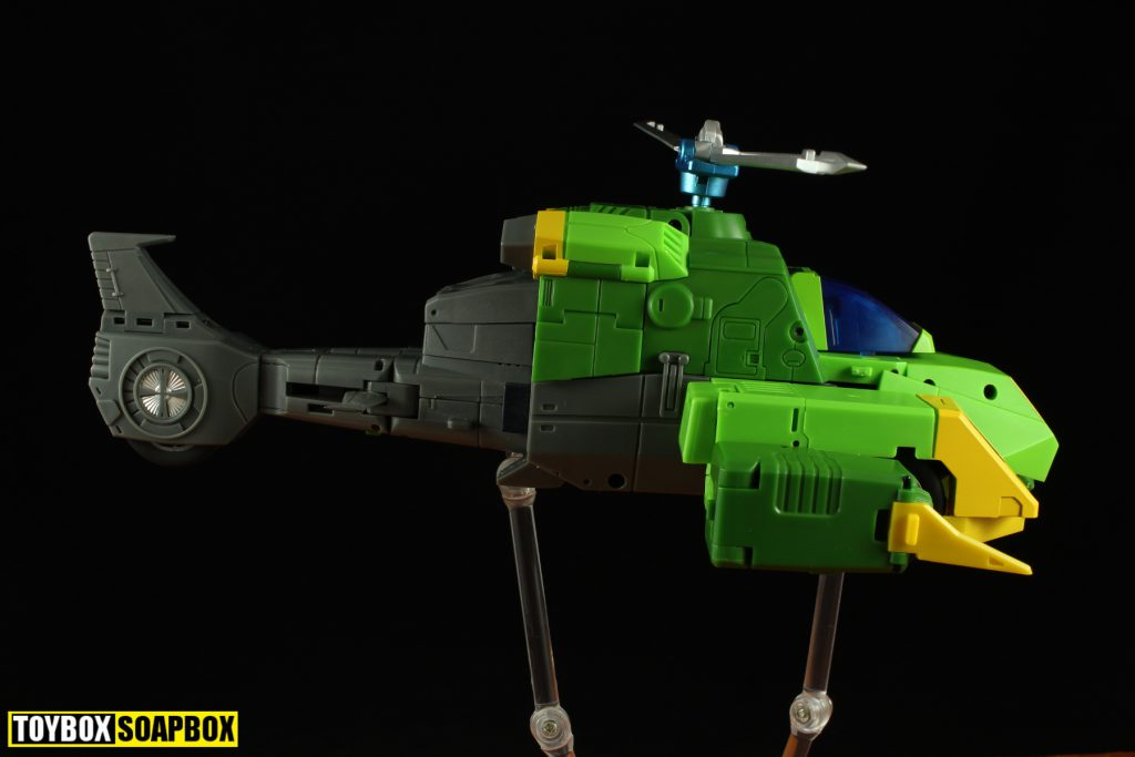 open and play mp springer helicopter side