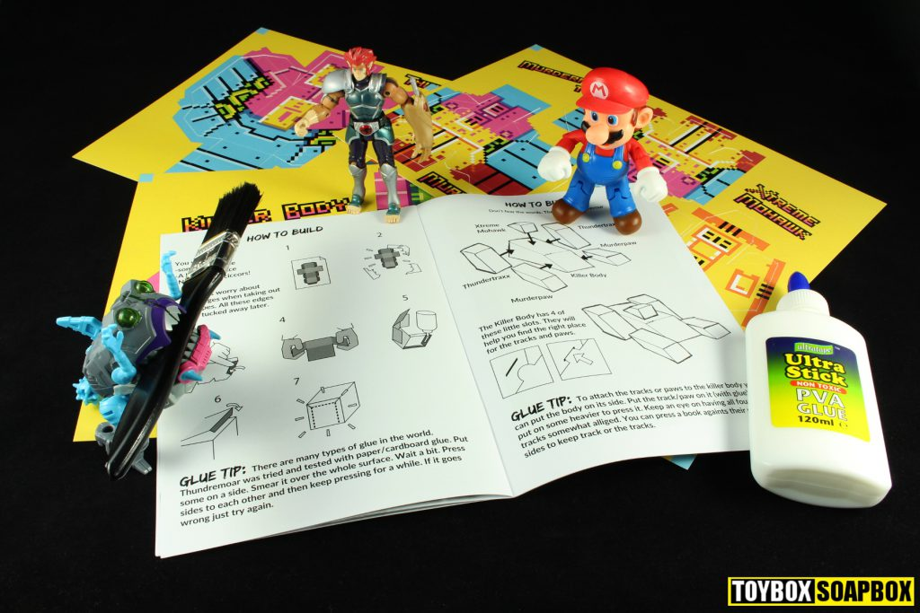 thundermoar instruction book and glue