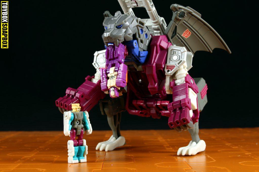 titans return fengul scorponok TITAN MASTER