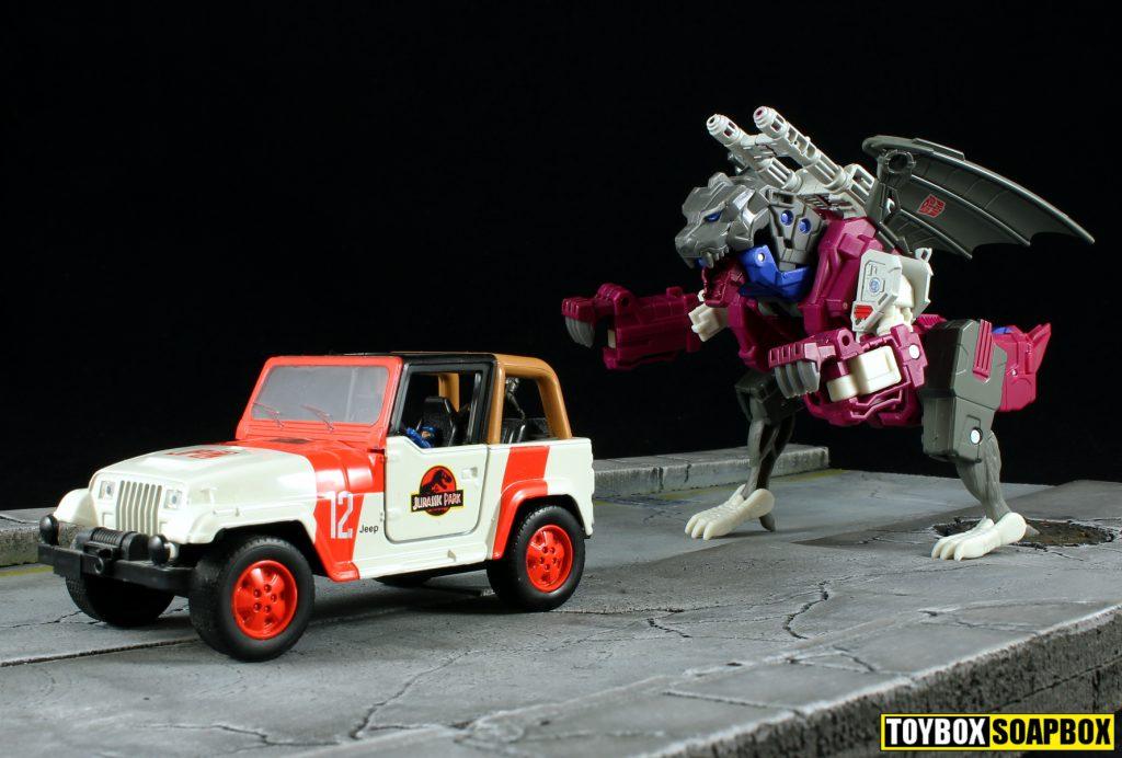 titans return deluxe grotusque jurassic park jeep