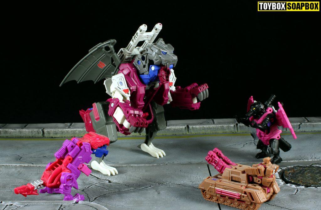 titans return exclusive grotusque vs titan masters