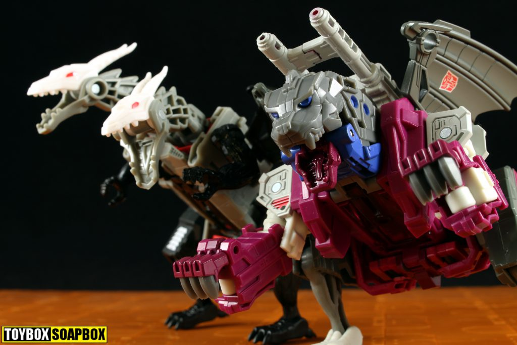 titans return grotusque beast mode head