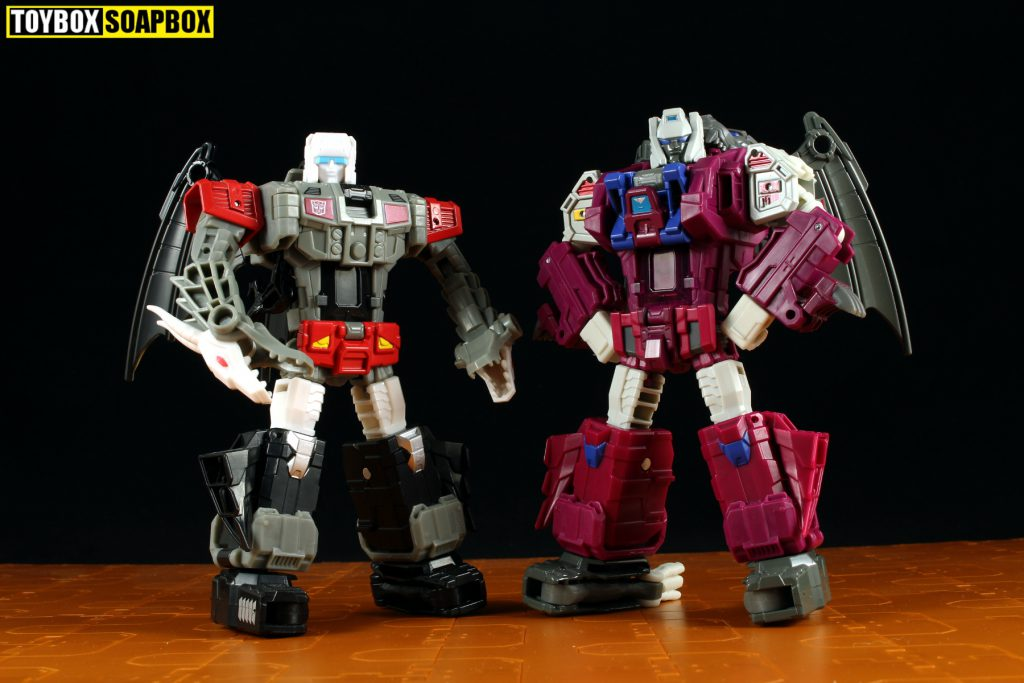 transformers monsterbots grotusque and twinferno
