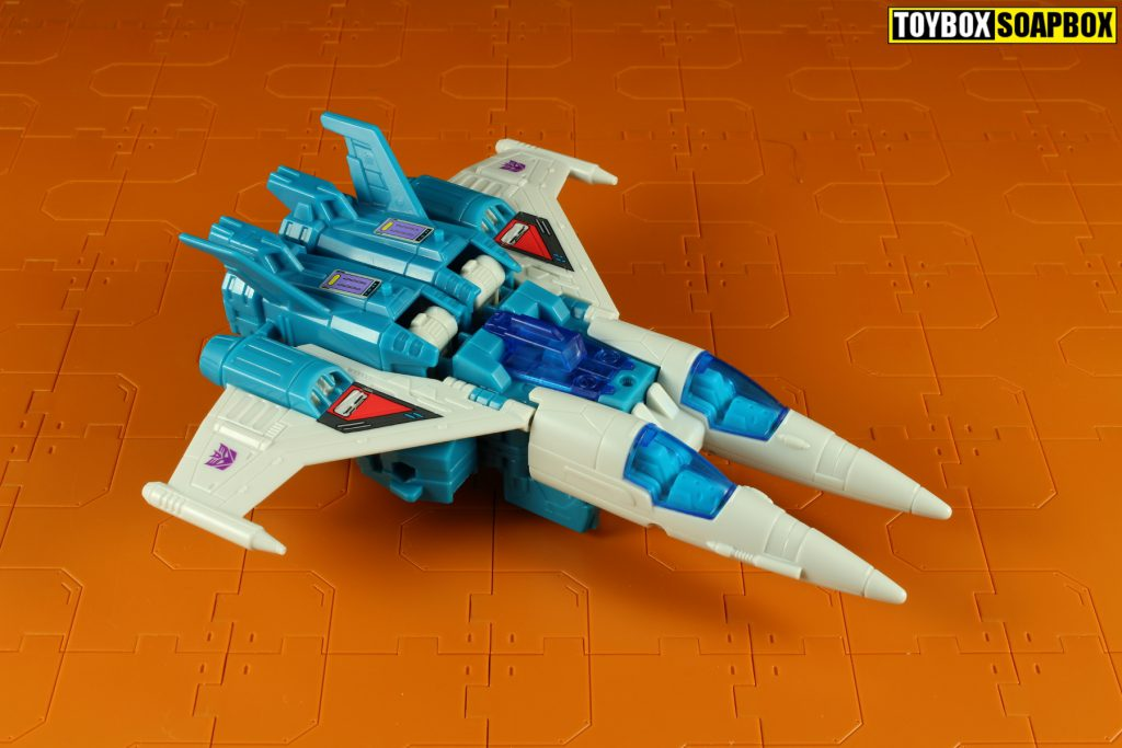 titans return slugslinger jet mode aerial