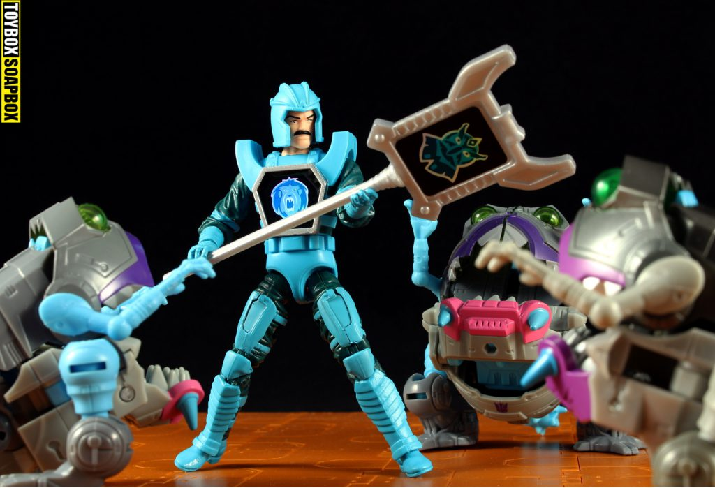 transformers sharkticons vs leoric visionaries