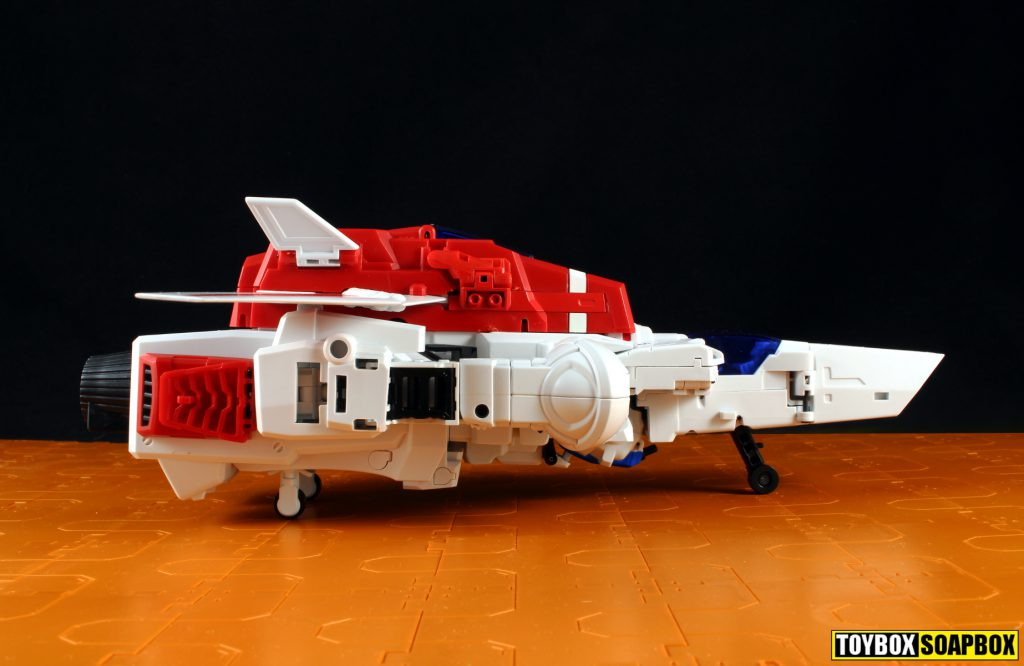 x2 toys skycrusher jet mode side