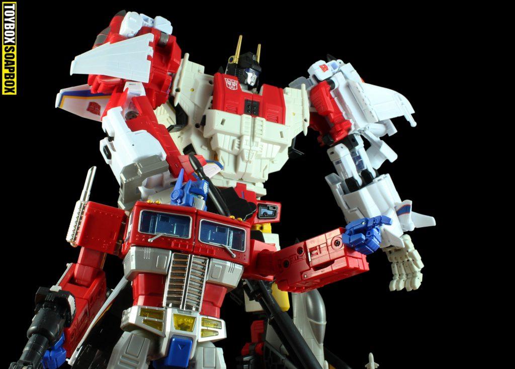 mp 10 optimus prime and ju jiang jet commander