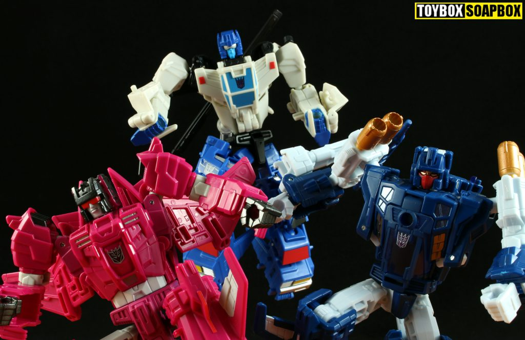 transformers legends misfire & triggerhappy and potp battletrap