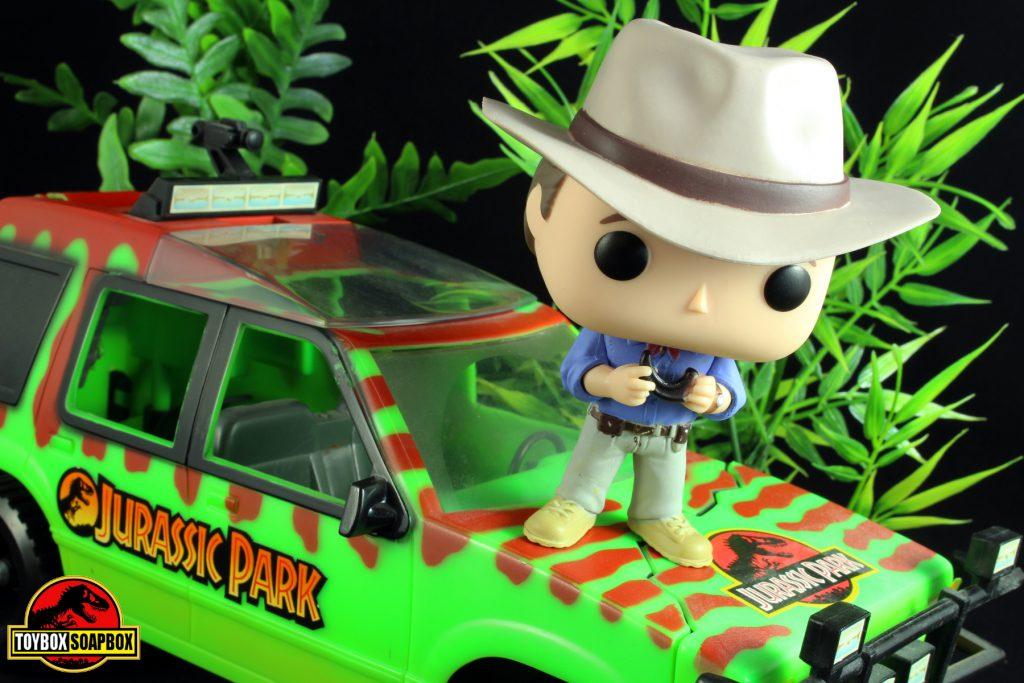funko pop jurassic park alan grant review
