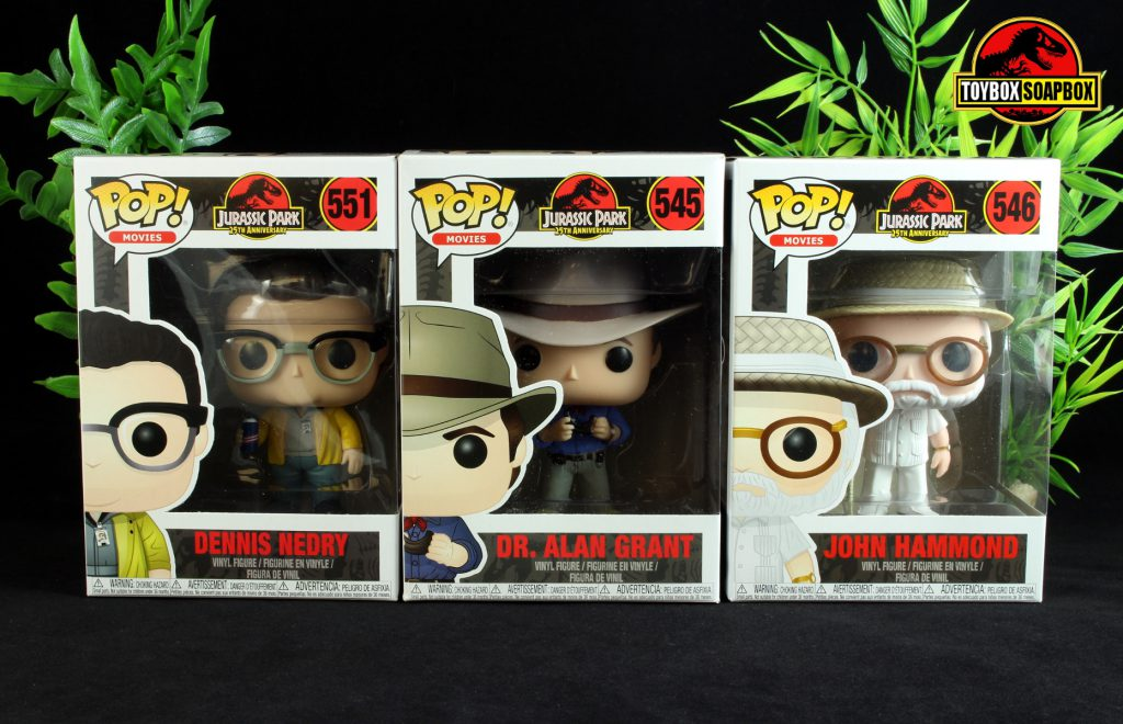 jurassic park funko pop review