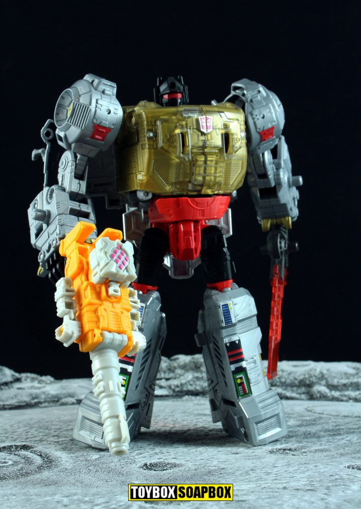 transformers power of the primes grimlock landmine alpha trion