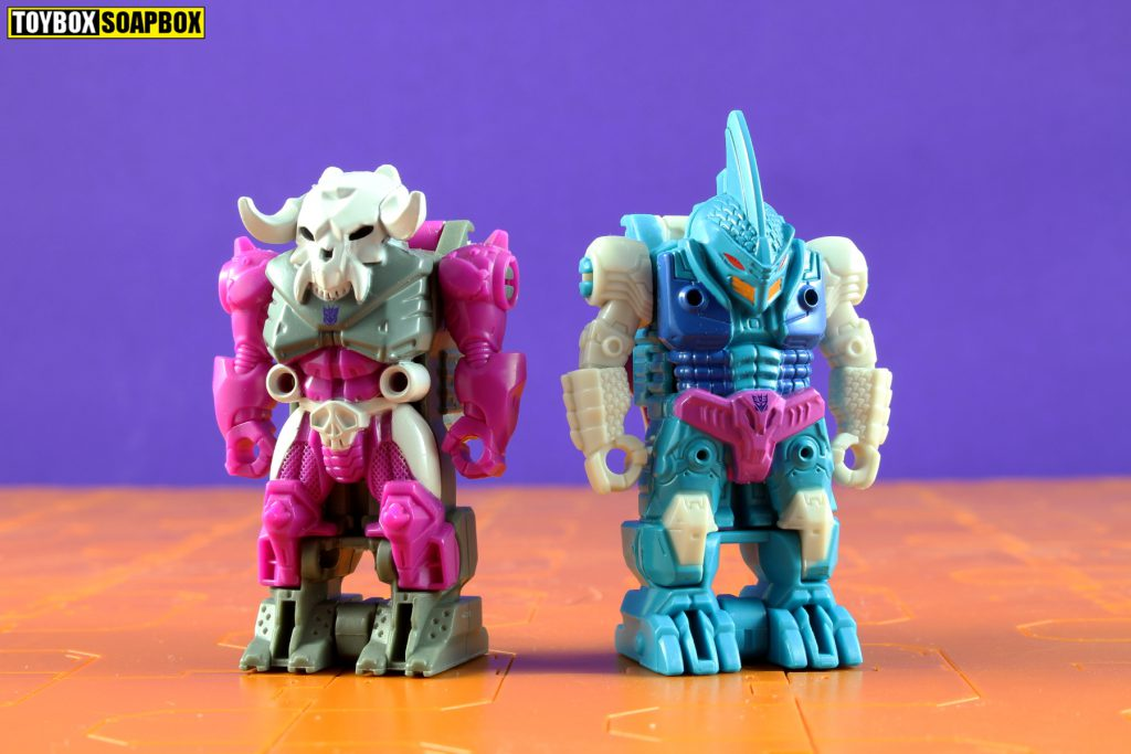 transformers pretenders power of the primes skullgrin and submarauder