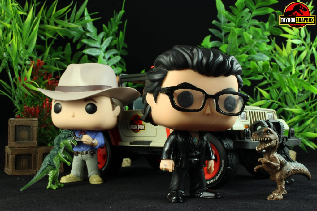 Funko Finds A Way Ian Malcolm Jurassic Park Funko Pop