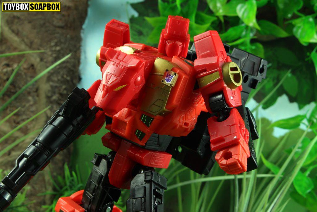 transformers potp rampage head