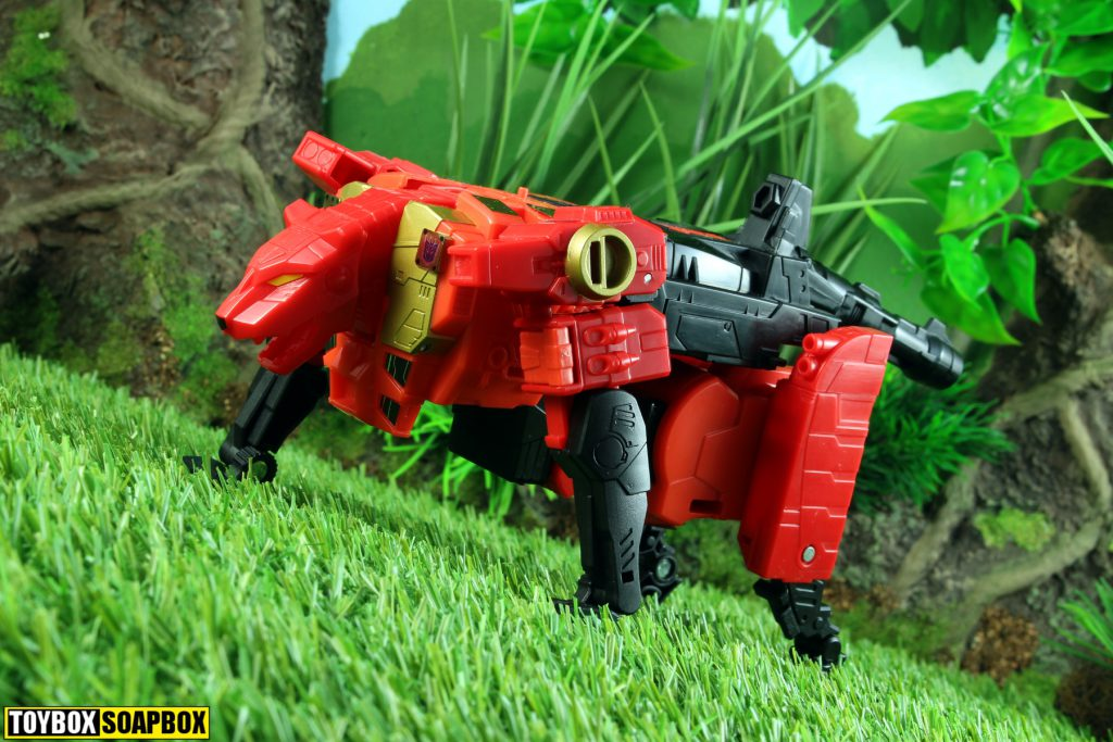 power of the primes transformers rampage beast mode