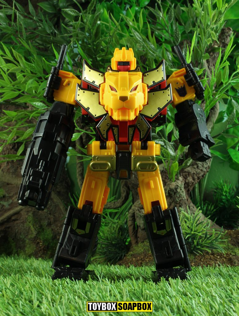 Power of the primes razorclaw robot mode