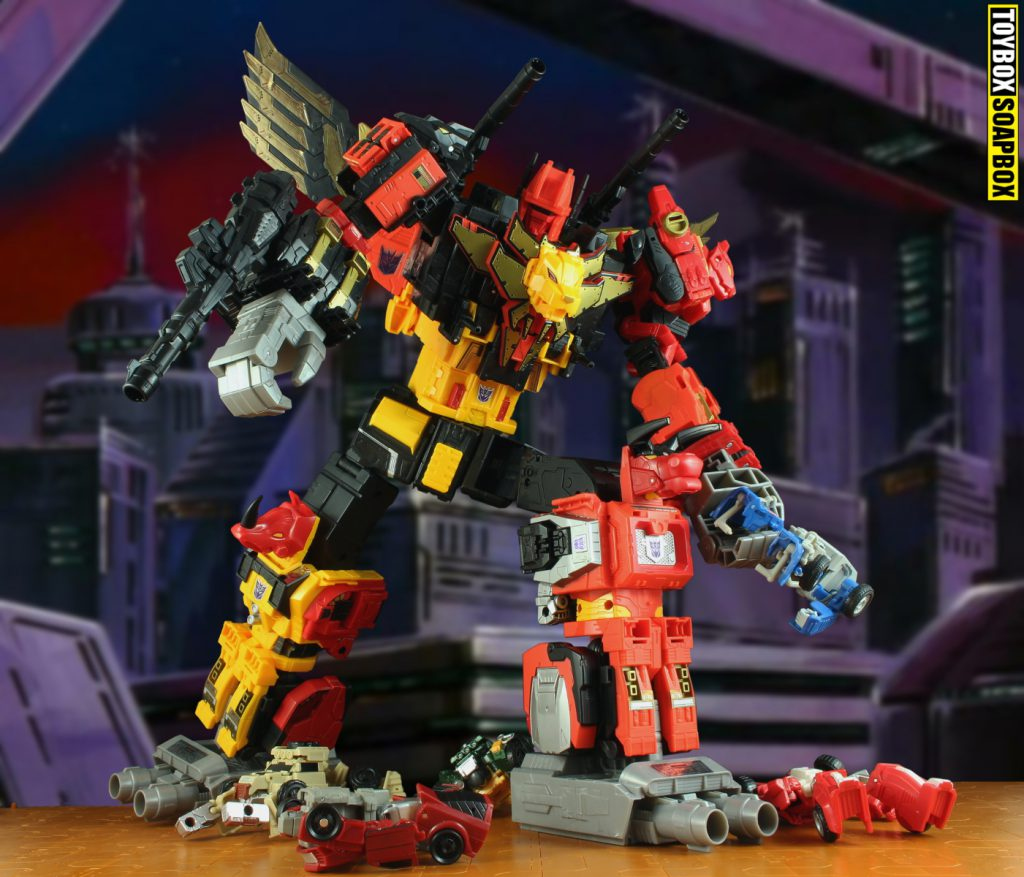 transformers power of the primes predaking titan class
