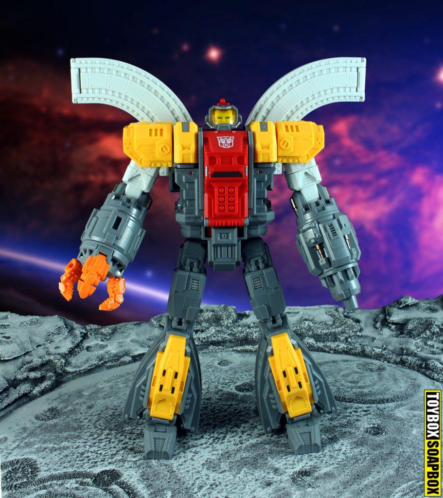 mechfanstoys huge dragon omega supreme bot mode