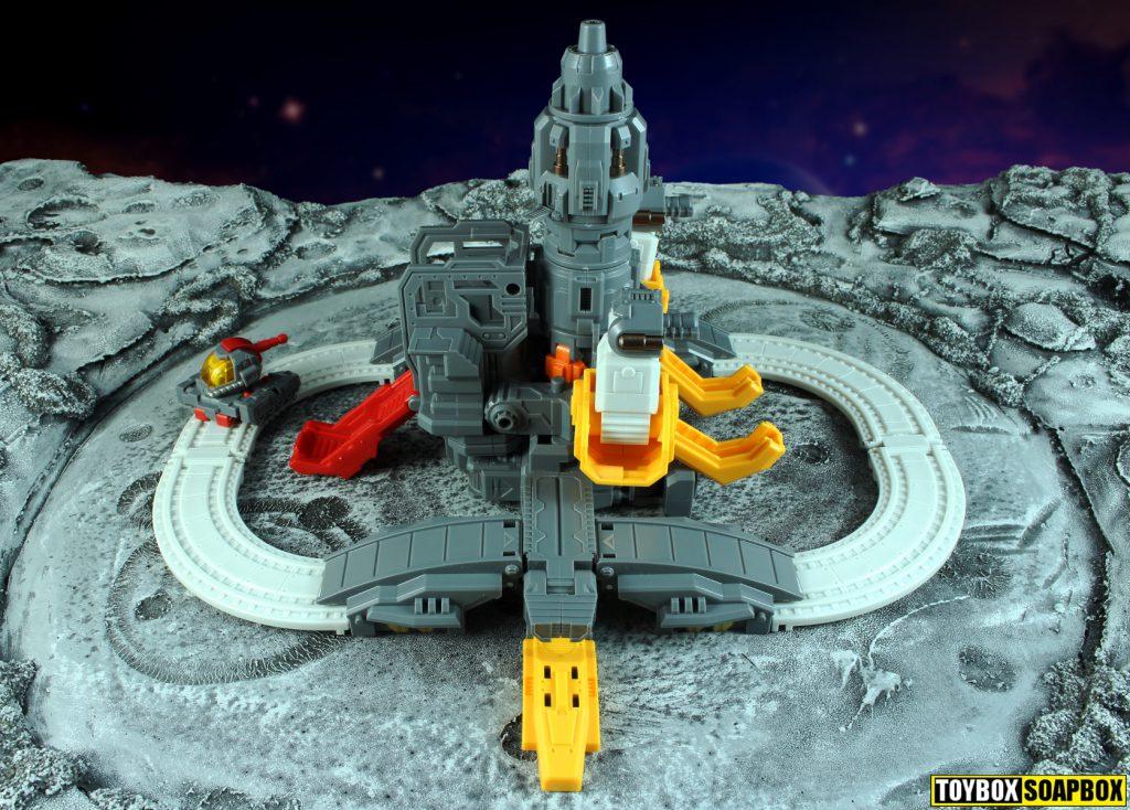 mechfanstoys huge dragon omega supreme rocket base