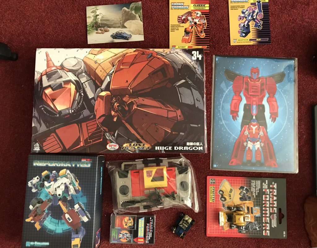 transformers toy haul tfnation 2018