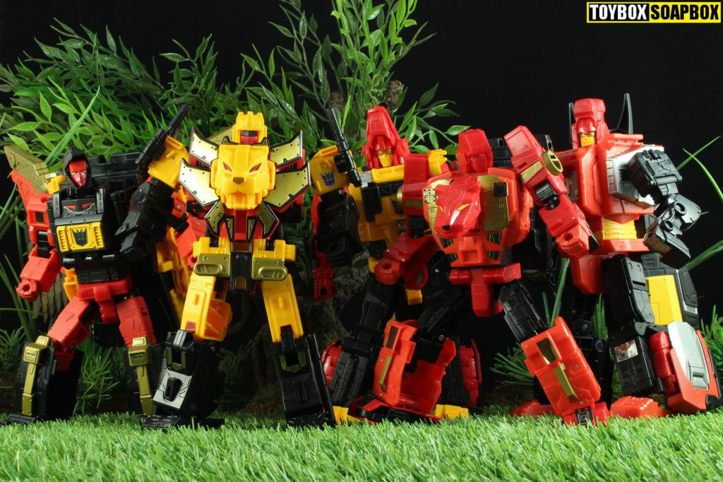 power of the primes predaking review predacons
