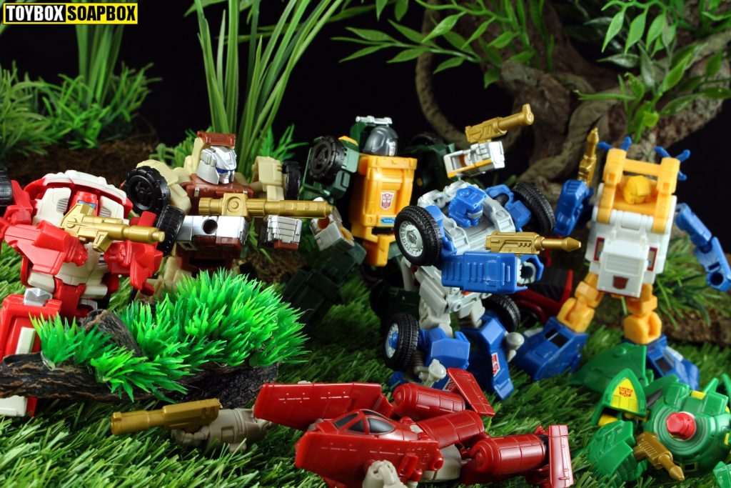 transformers golden lagoon g1 weapons upgrades