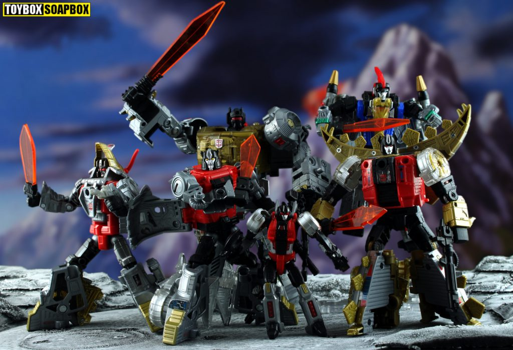POWER OF THE PRIMES DINOBOTS WEAPONS