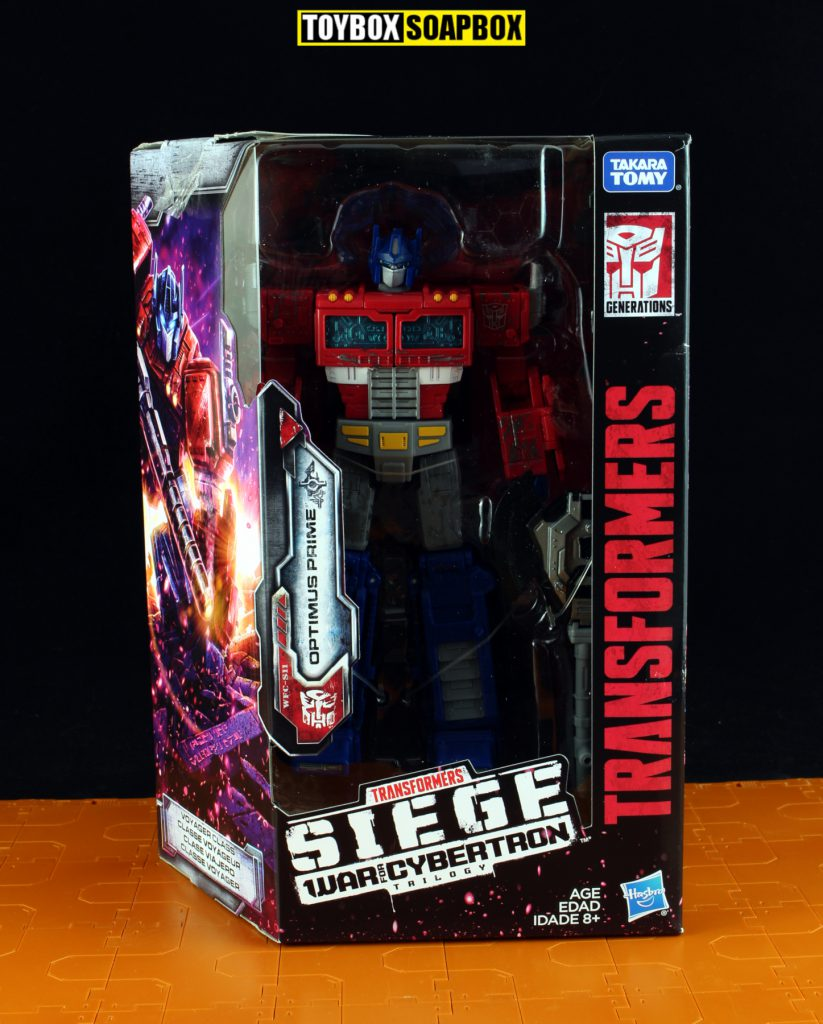 Siege Optimus Prime box