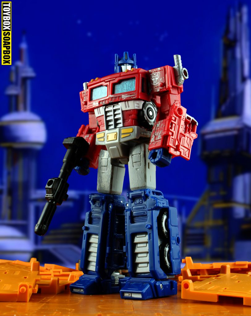 transformers siege optimus prime review