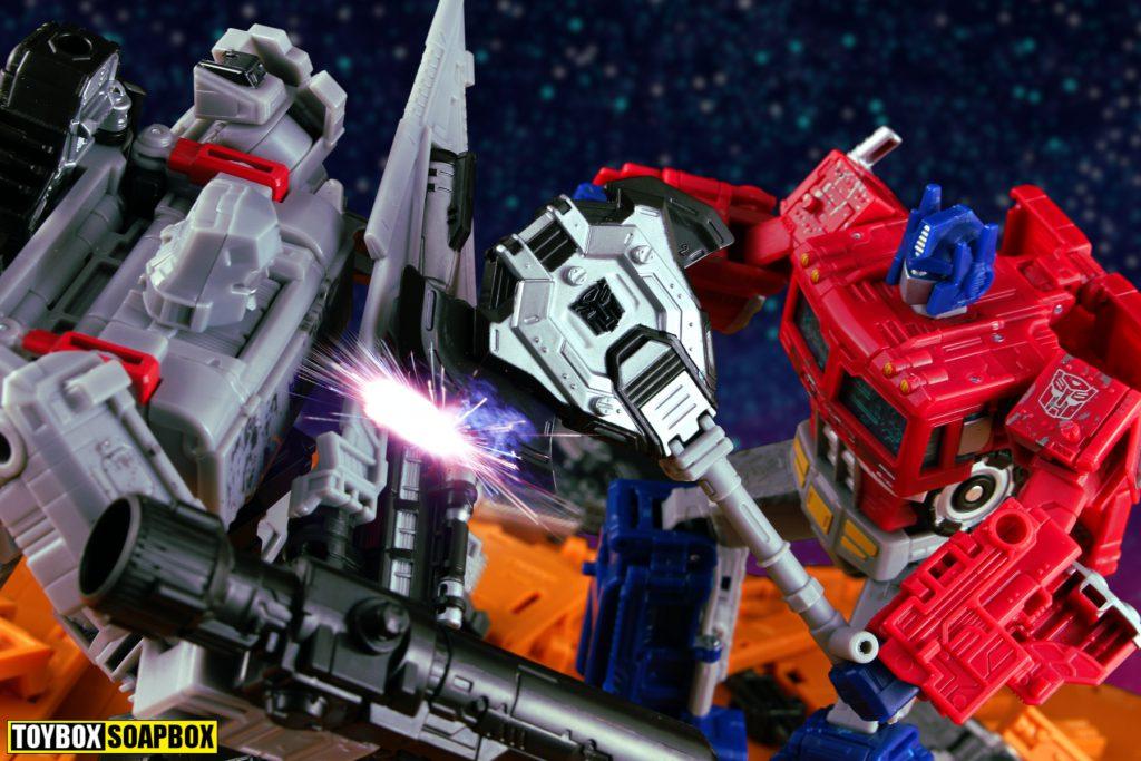 siege optimus prime axe