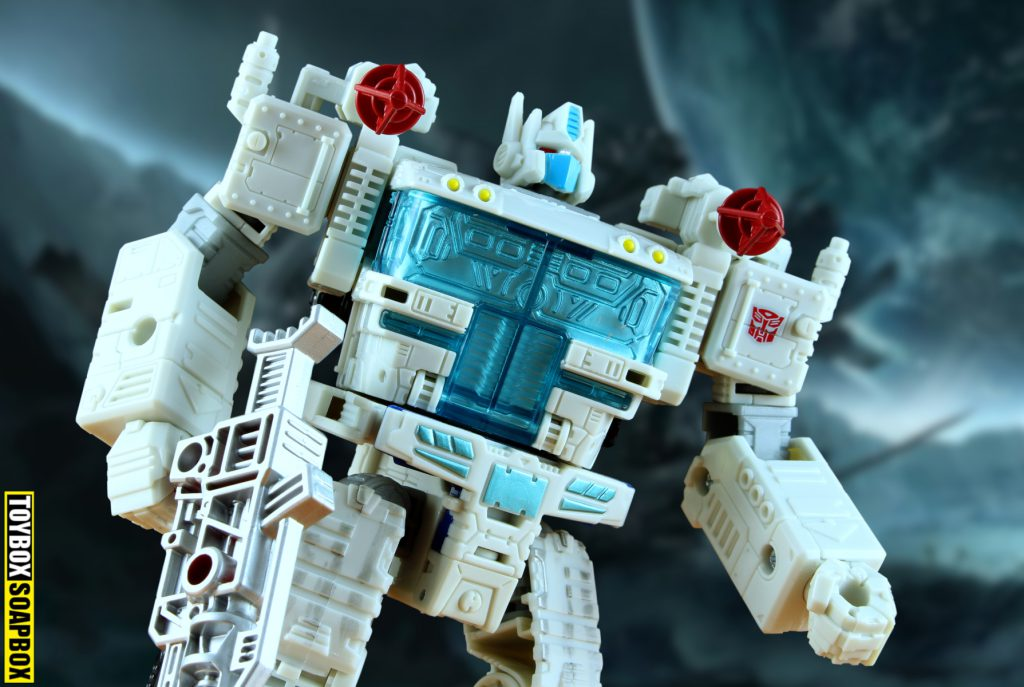 transformers ultra magnus siege core robot head